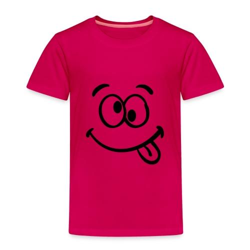 Crazy smile - Kinder Premium T-Shirt