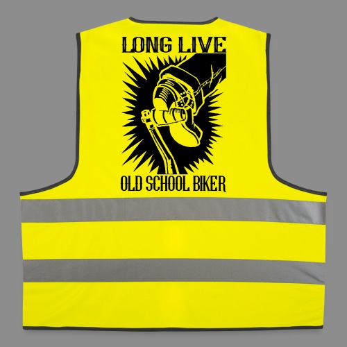 Long Live Old School Biker - Chaleco reflectante
