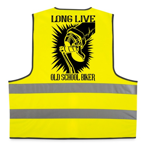 Long Live Old School Biker - Chaleco reflectante
