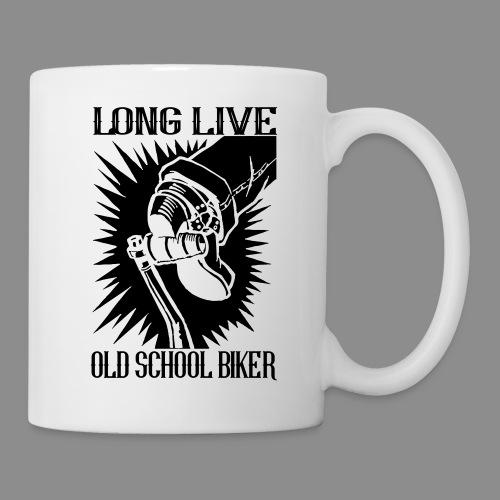 Long Live Old School Biker - Taza