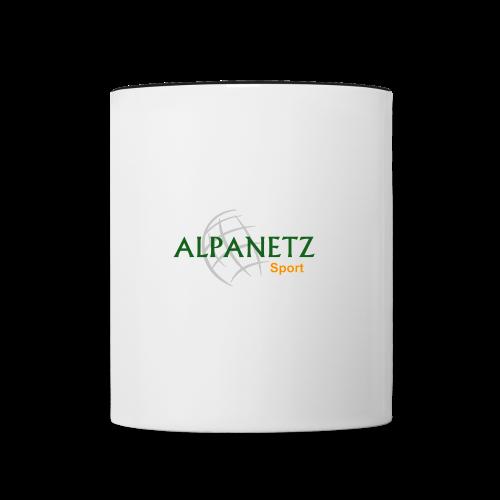 Alpanetz-Sport Tasse zweifarbig - Tasse zweifarbig