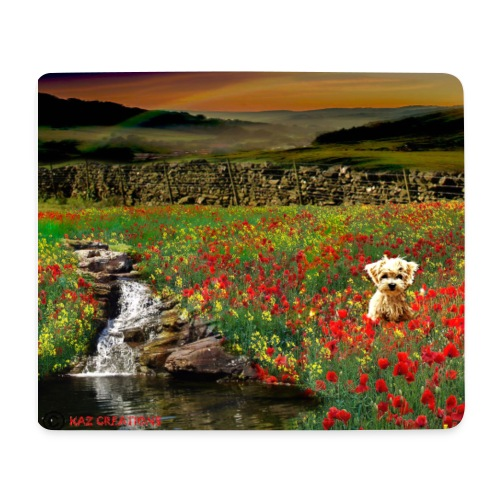 Country Walk By Kaz - Mouse Pad (horizontal)