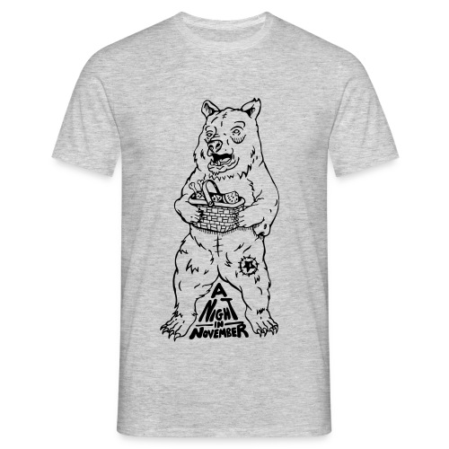 Picnic - Black Bear (Mens Tee) - Men's T-Shirt