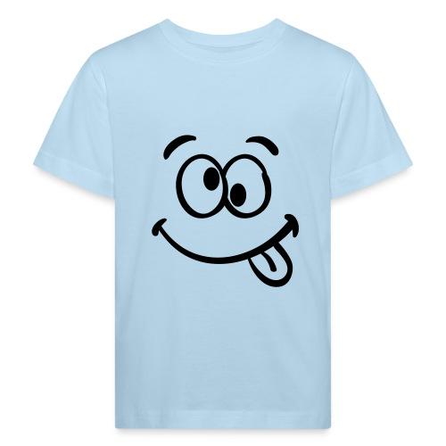 Crazy smile - Kinder Bio-T-Shirt