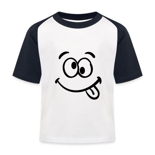 Crazy smile - Kinder Baseball T-Shirt