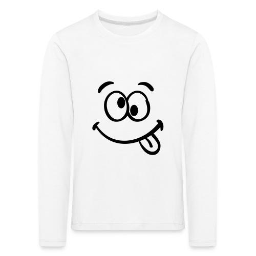 Crazy smile - Kinder Premium Langarmshirt