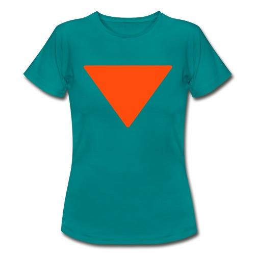 Vrouwen t-shirt 'Simple'  - Vrouwen T-shirt