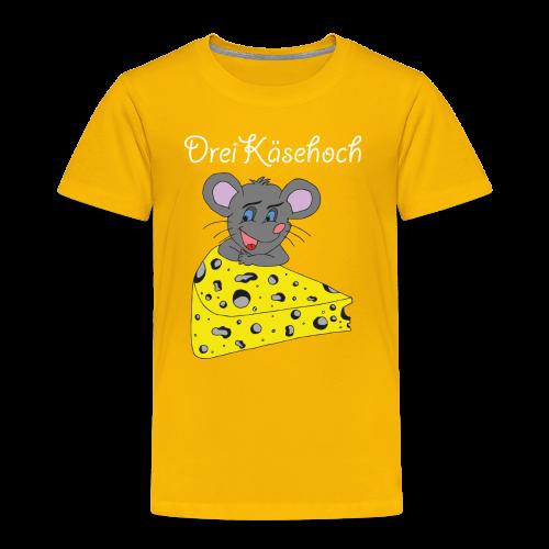 Dreikäsehoch Kinder T-Shirt orange - Kinder Premium T-Shirt