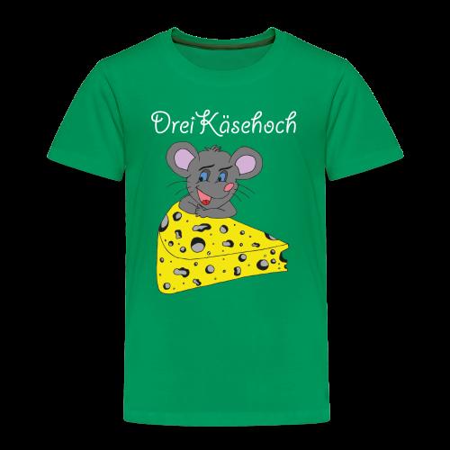 Dreikäsehoch Kinder T-Shirt grün - Kinder Premium T-Shirt