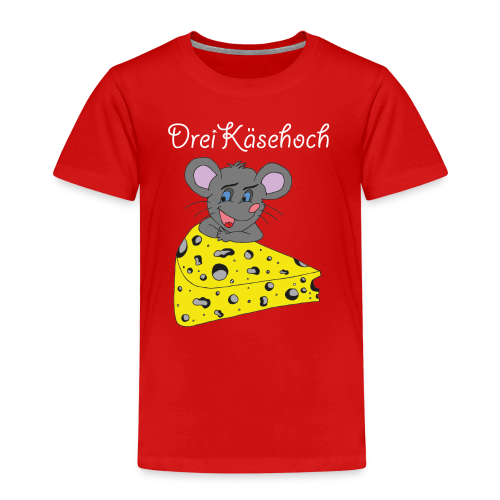 Dreikäsehoch Kinder T-Shirt rot - Kinder Premium T-Shirt