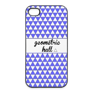 coque  4s geometric hull - Coque rigide iPhone 4/4s