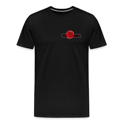 JiuJitsu-Standard-T-Shirt-mitTKJ_Logo-Ärmel-M1 - Männer Premium T-Shirt