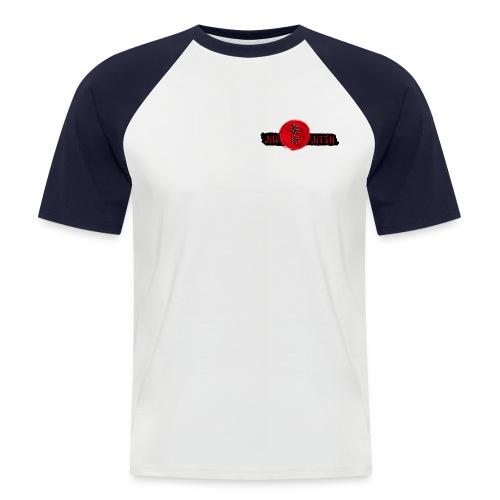 JiuJitsu-Standard-T-Shirt-mitTKJ_Logo-Ärmel-M1 - Männer Baseball-T-Shirt