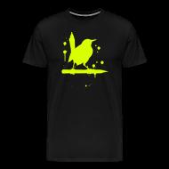 T-Shirts ~ Männer Premium T-Shirt ~ vogel grell