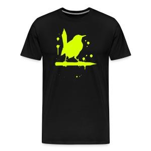 vogel grell - Männer Premium T-Shirt