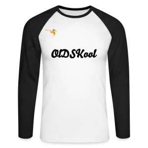 Men's OldSkool Baseball  Long Sleeve Shirt - Men's Long Sleeve Baseball T-Shirt