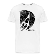 T-Shirts ~ Männer Premium T-Shirt ~ bleistift logo grunge schwarz