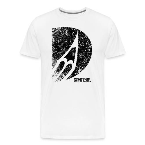 bleistift logo grunge schwarz - Männer Premium T-Shirt