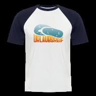 T-Shirts ~ Männer Baseball-T-Shirt ~ urlaubsreif