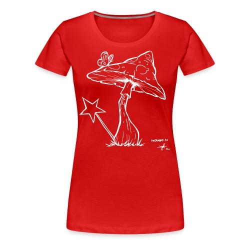 magic mushroom - Frauen Premium T-Shirt