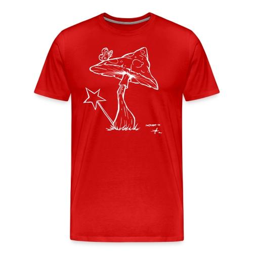 magic mushroom - Männer Premium T-Shirt