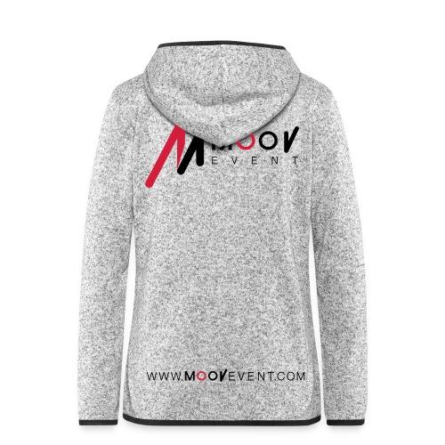 Veste Polaire à capuche MoovEvent - Femme - Veste à capuche polaire pour femmes
