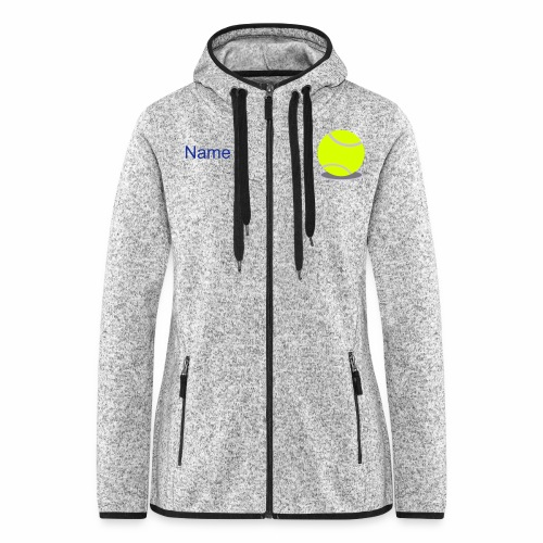 Warm-Up-Hoodie (Damen) - Frauen Kapuzen-Fleecejacke