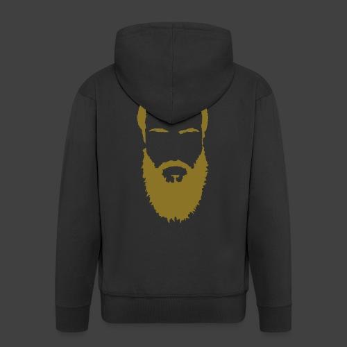 Clamtaco's GoldenBeard Hoodie Zipped - Men's Premium Hooded Jacket
