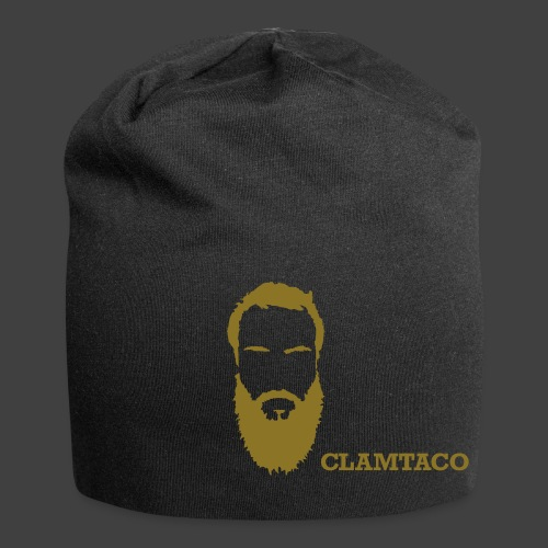 Clamtaco GoldenBeard Beanie - Jersey Beanie