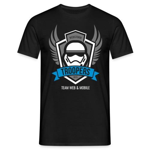Shirt Webstorm Troopers (Logos mehrfarbig) - Männer T-Shirt