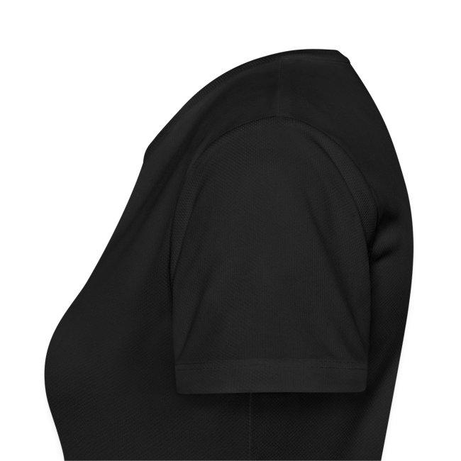 Tshirt noir avec logo devant