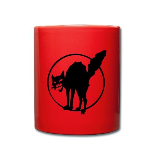 Anarcho Cat Tasse - Tasse einfarbig