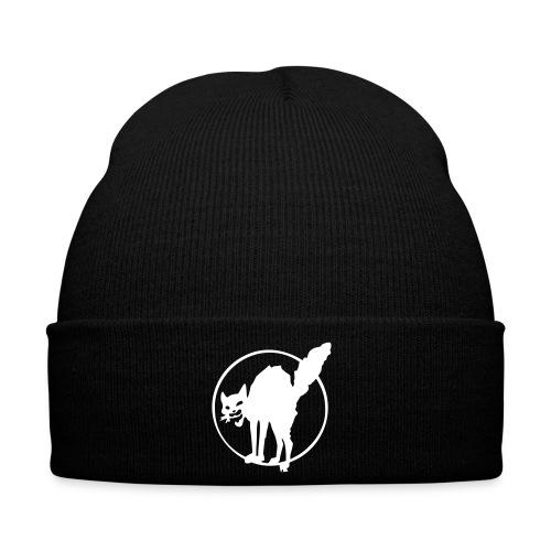 Anarcho Cat Mütze schwarz - Wintermütze