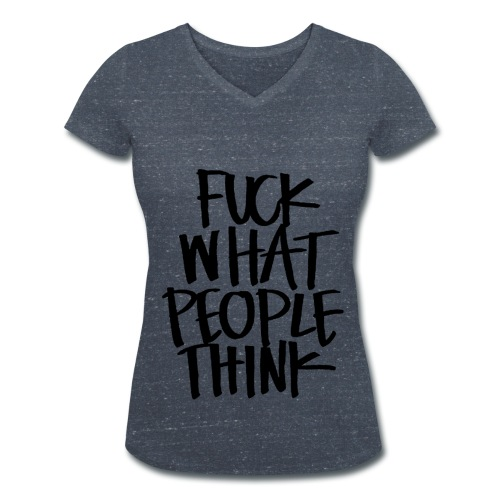 FWPT - Frauen Bio-T-Shirt mit V-Ausschnitt von Stanley & Stella
