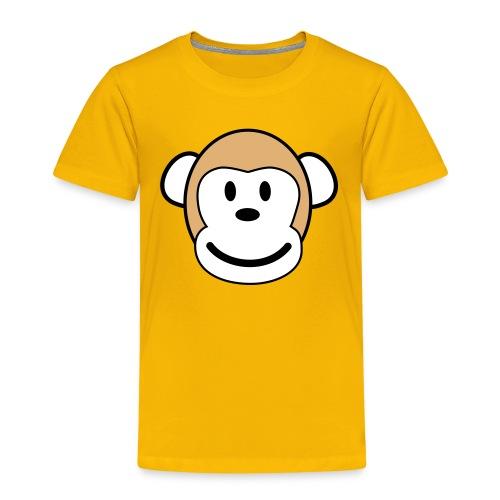 Glücklicher Affe - Kinder Premium T-Shirt