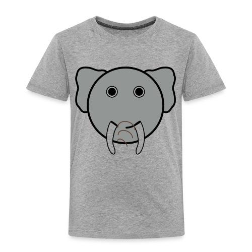 Beeindruckender Elefant  - Kinder Premium T-Shirt