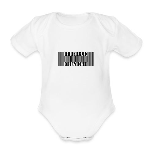 Barcode Body Kurzarm Baby - Baby Bio-Kurzarm-Body