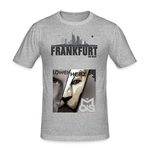 Löwenshirt - Männer Slim Fit T-Shirt