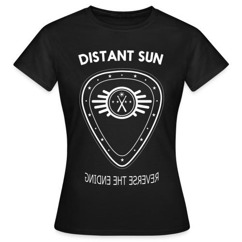 Distant Sun - Womens Standard T Shirt White Logo - Women's T-Shirt
