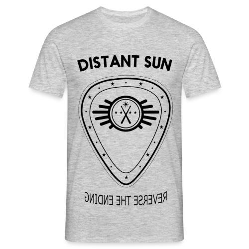 Distant Sun - Mens Standard T Shirt Black Logo - Men's T-Shirt