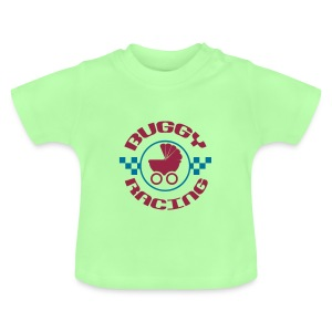 Buggy-Racing shirt kurz - Baby T-Shirt