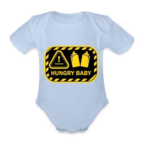 Hungy-Baby-Body kurz - Baby Bio-Kurzarm-Body