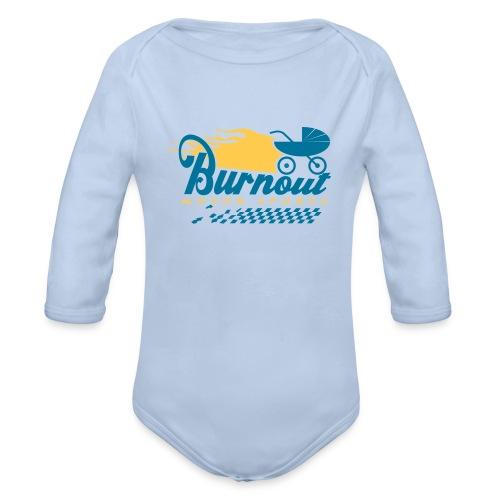 Burnout-Body lang - Baby Bio-Langarm-Body