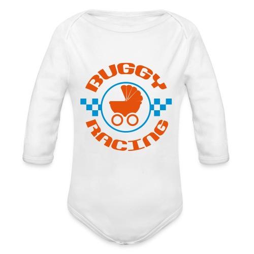 Buggy-Racing Body lang - Baby Bio-Langarm-Body