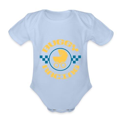 Buggy-Racing Body kurz - Baby Bio-Kurzarm-Body