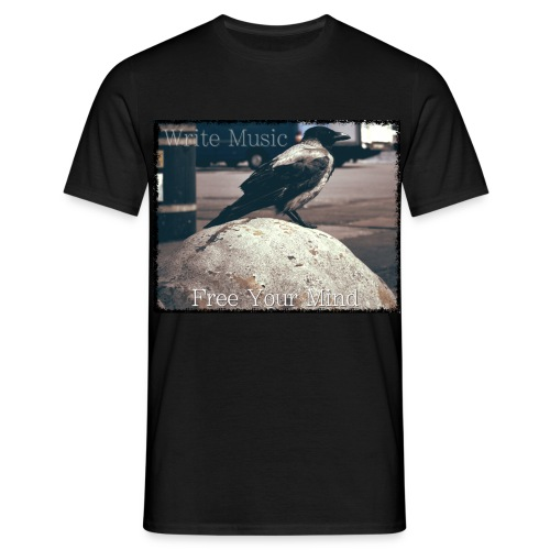 Free Bird (Black) - Men's T-Shirt