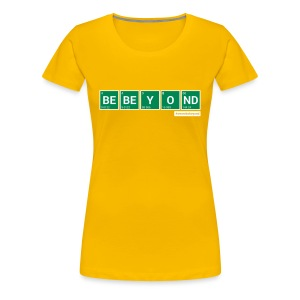 Breaking Beyond Girl-Shirt Yellow - Frauen Premium T-Shirt