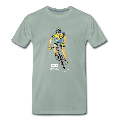 MTB RACING - Männer Premium T-Shirt