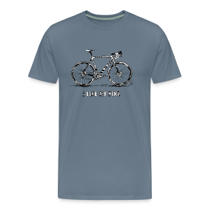 CycloCross I LIKE MY BIKE - Männer Premium T-Shirt