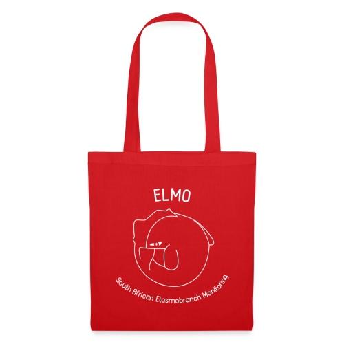 ELMO Red Cotton Bag - Tote Bag